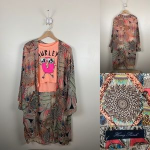 Boho Kimono 👘 Great for Layering w/  favorite Tee